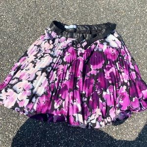 BCBG Generation Mini Skirt with Flowers